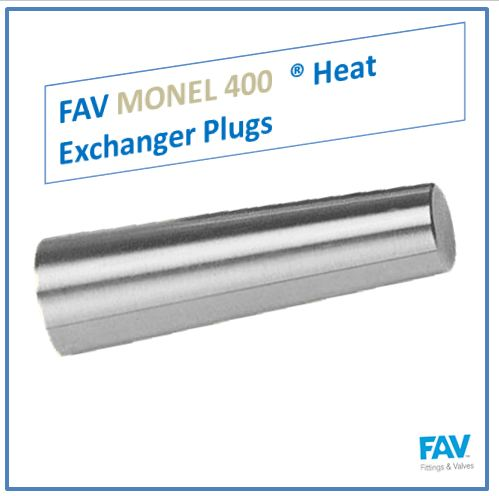 Monel 400 Heat Exchanger Plugs