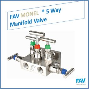 Monel 5 Way Manifold Valve