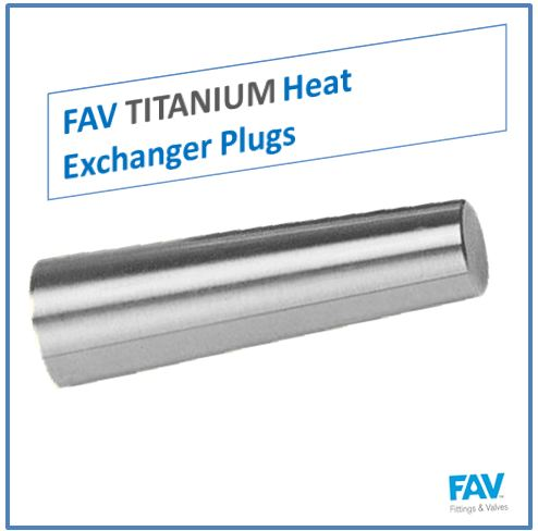 Titanium Heat Exchanger Plugs