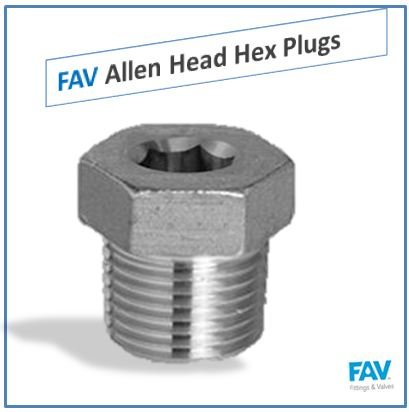 Allen Head Hex Plugs