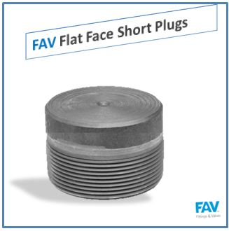 Flat Face Short Plugs