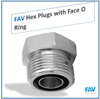 Hex Plugs with Face O Ring