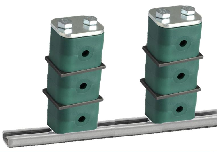 Multiple Tube Pipe Clamps - Verticle Or Horizontal Stacking