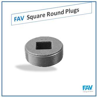 Square Round Plugs